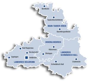 Region Heilbronn Franken Karte.Azv Heilbronn Franken